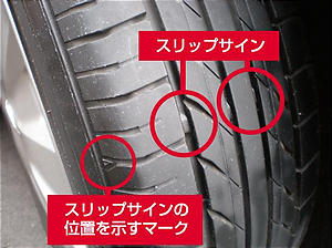 愛車のタイヤは大丈夫ですか?